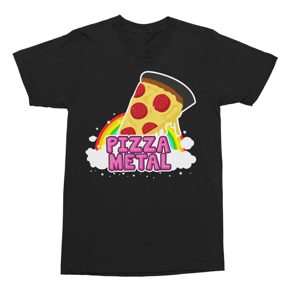 Pizza Rainbow Black