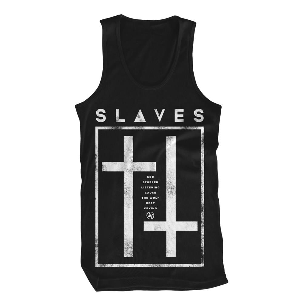 Crosses Black Tank Top