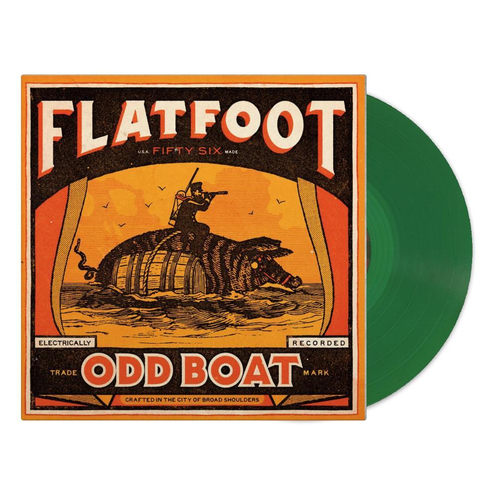 Odd Boat Kelly Green Gatefold