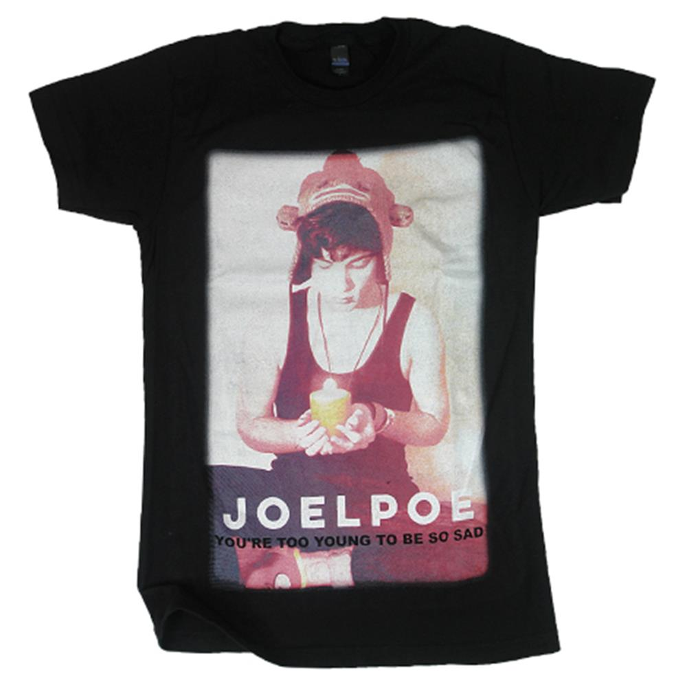 Too Young Black T-Shirt