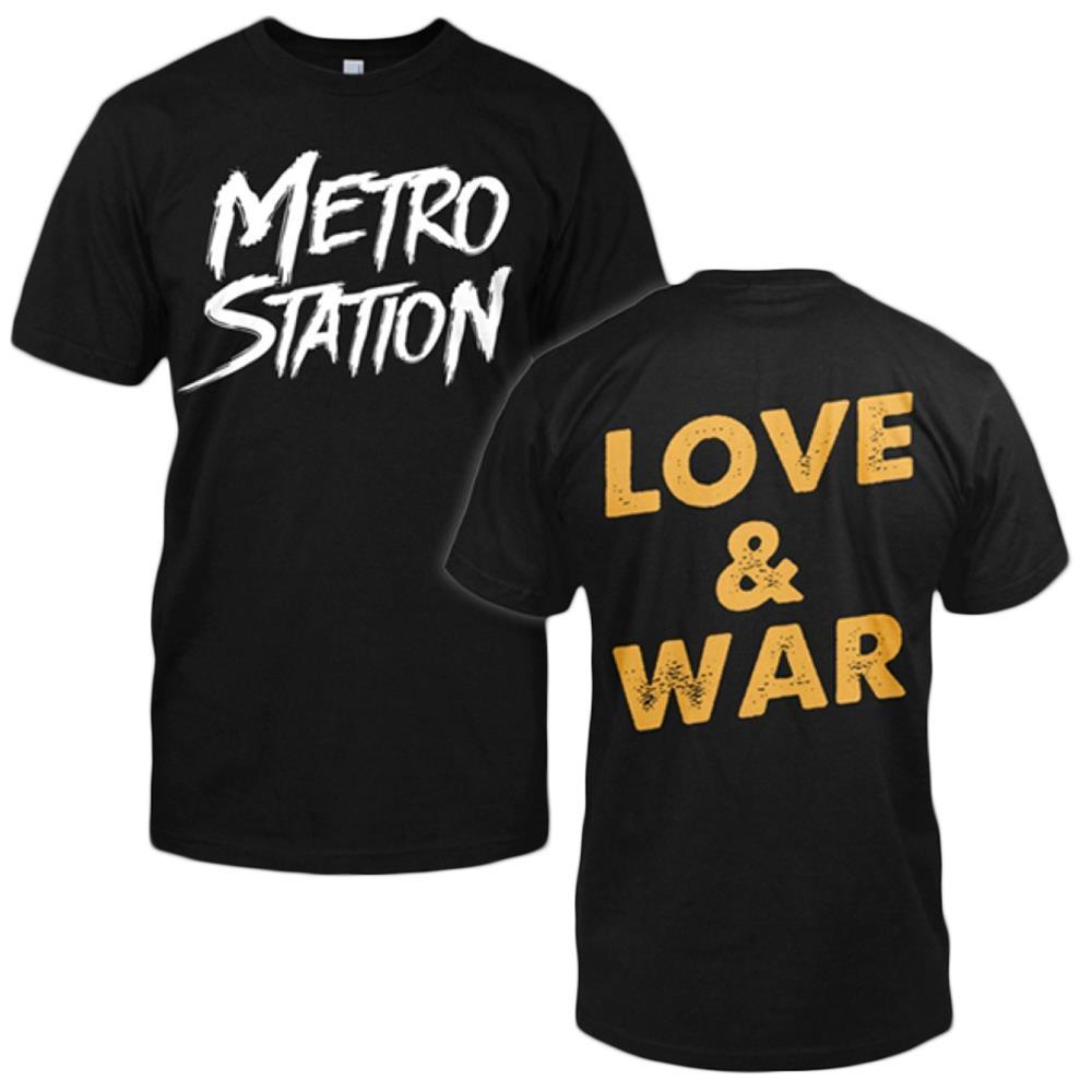 Love & War Black T-Shirt