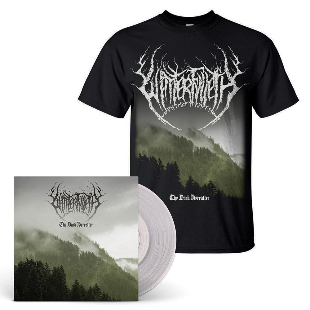 Clear Vinyl LP & Album Cover T-Shirt