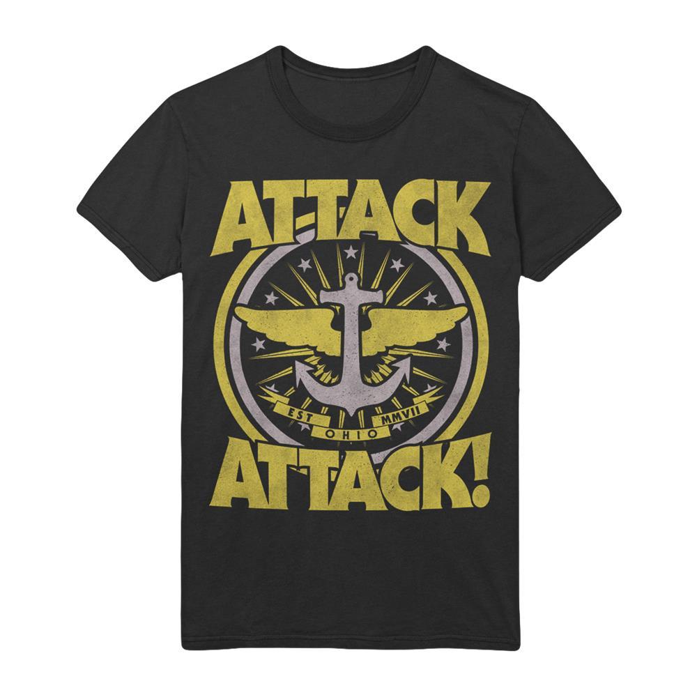 Anchor Crest Black