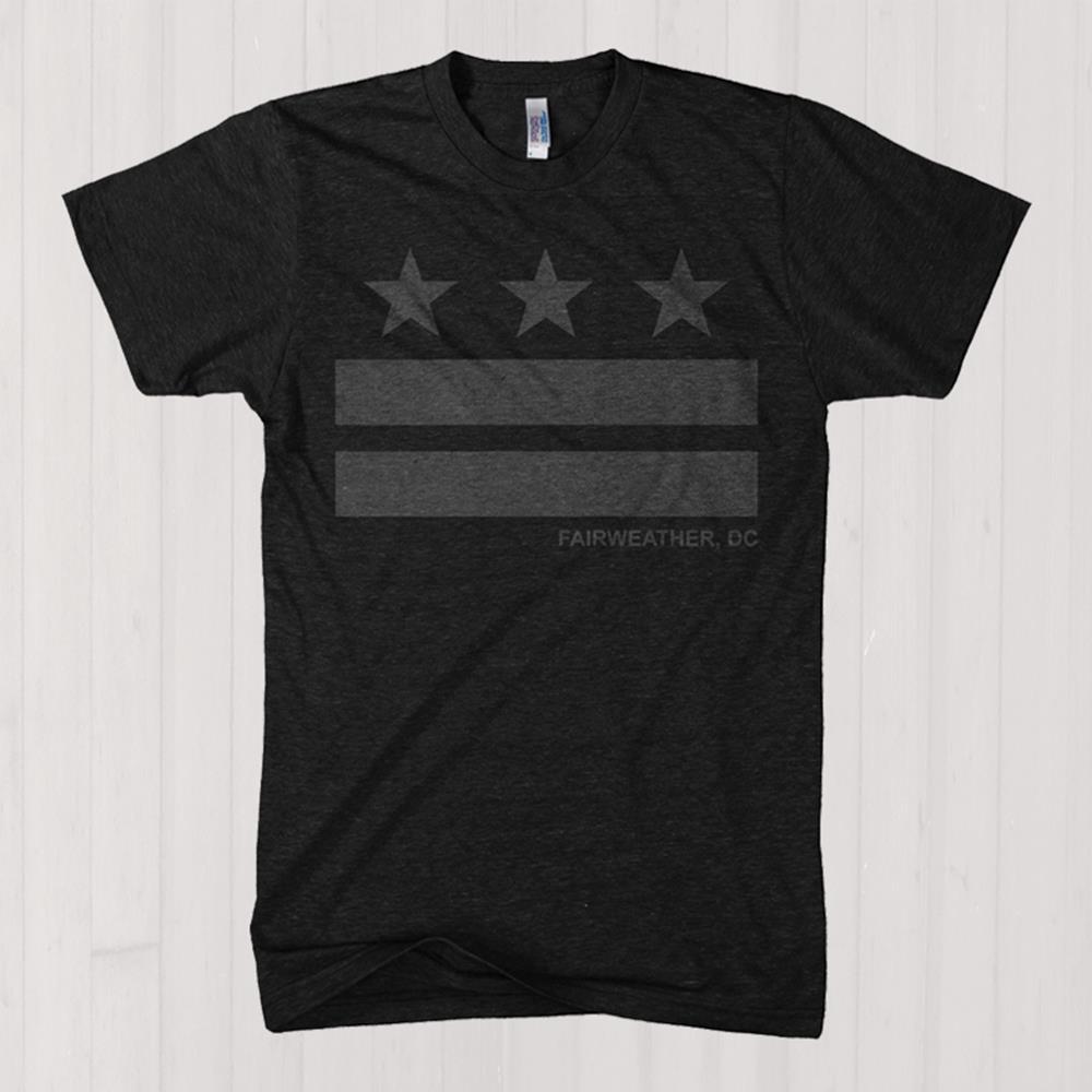 Stripes Heather Charcoal T-Shirt