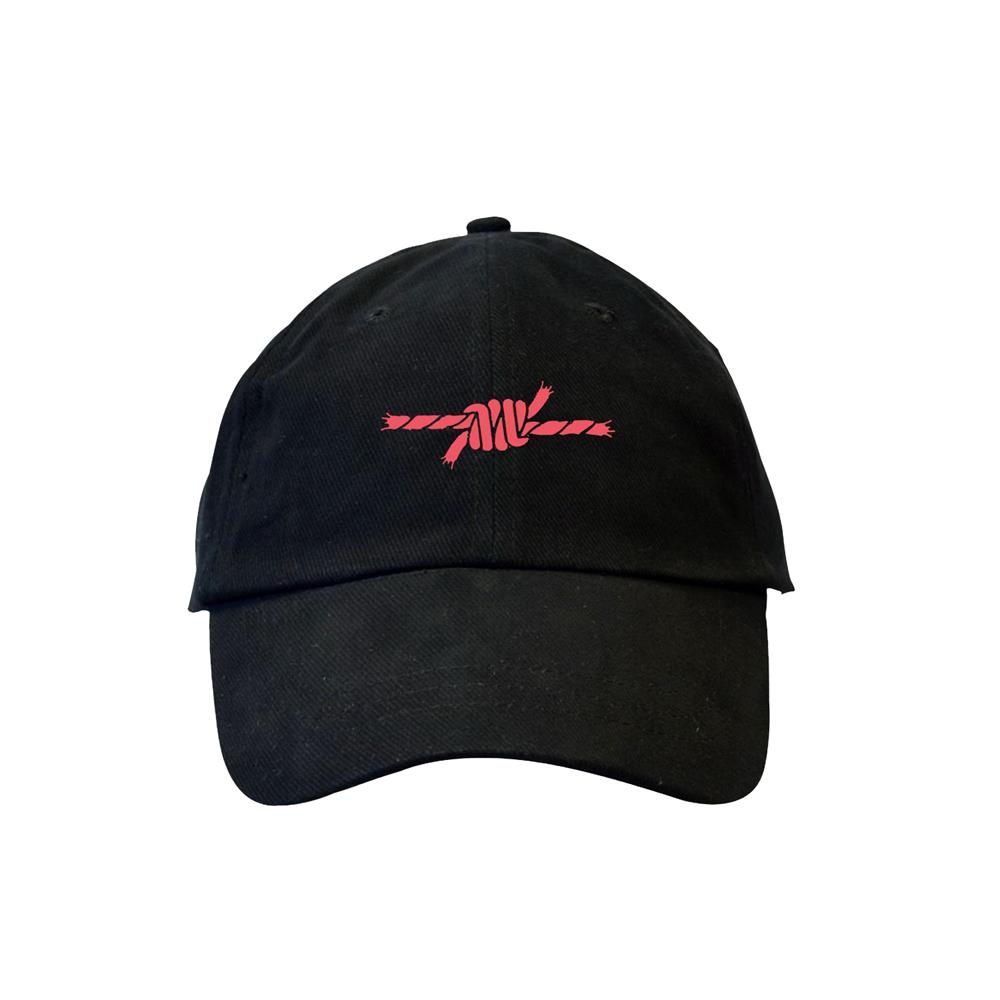 Rope Black Dad Hat