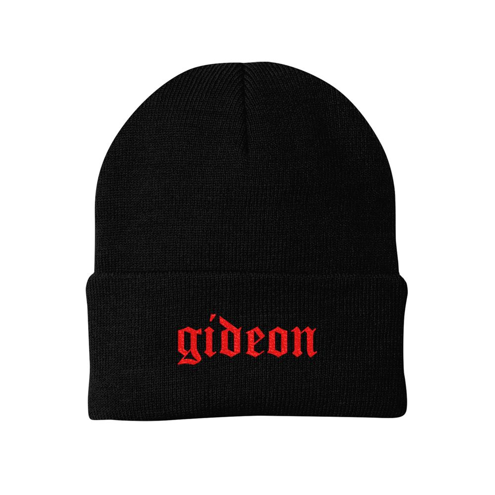 Red Logo Black Winter
