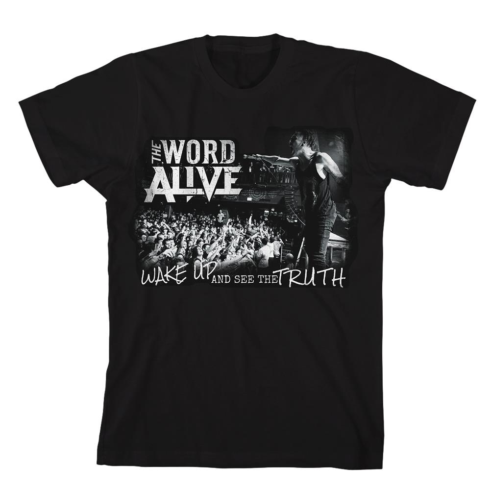 Wake Up Black T-Shirt
