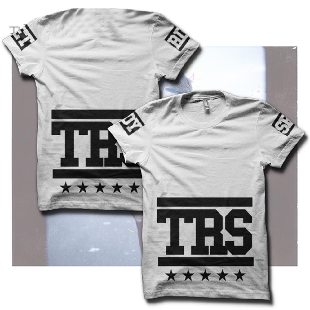 TRS Team White Girl's Shirt