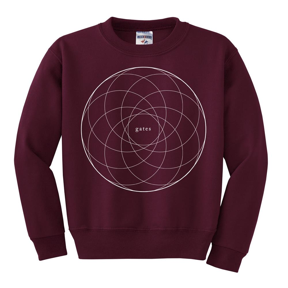 *Limited Stock* Circles Red Crewneck Sweatshirt