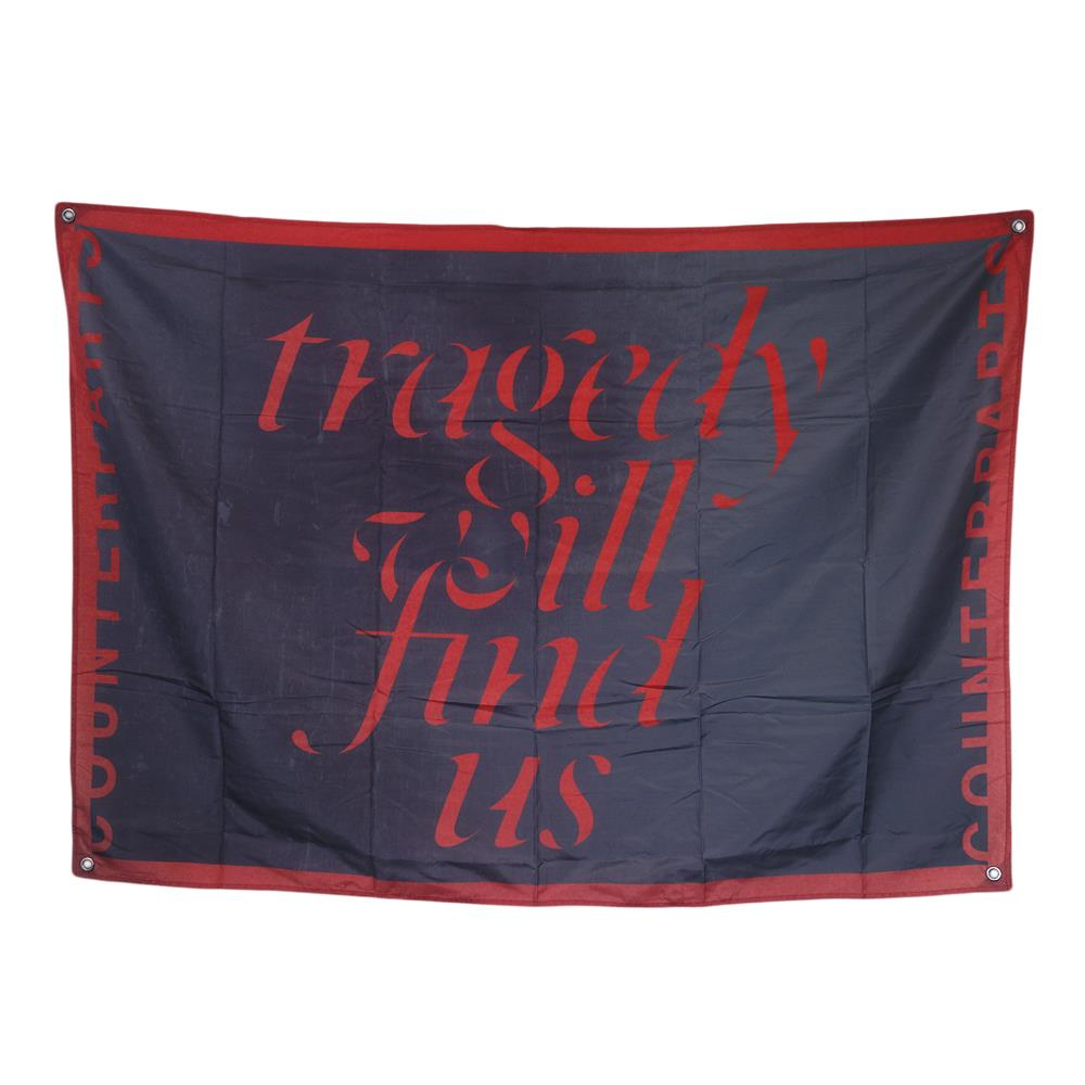 Tragedy Will Find Us Flag