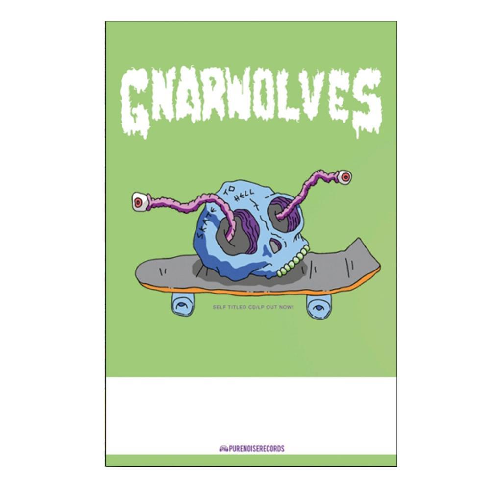 Skull Skate Poster