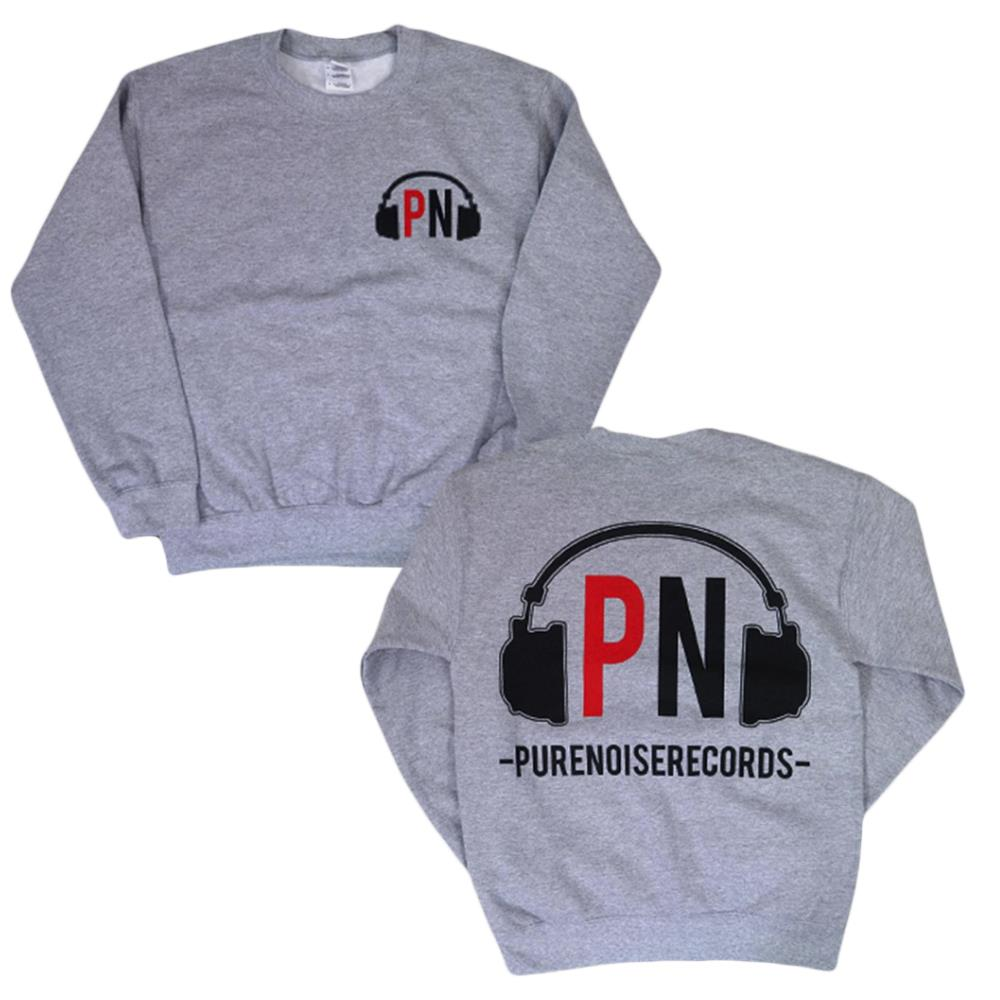 Headphones Heather Crewneck