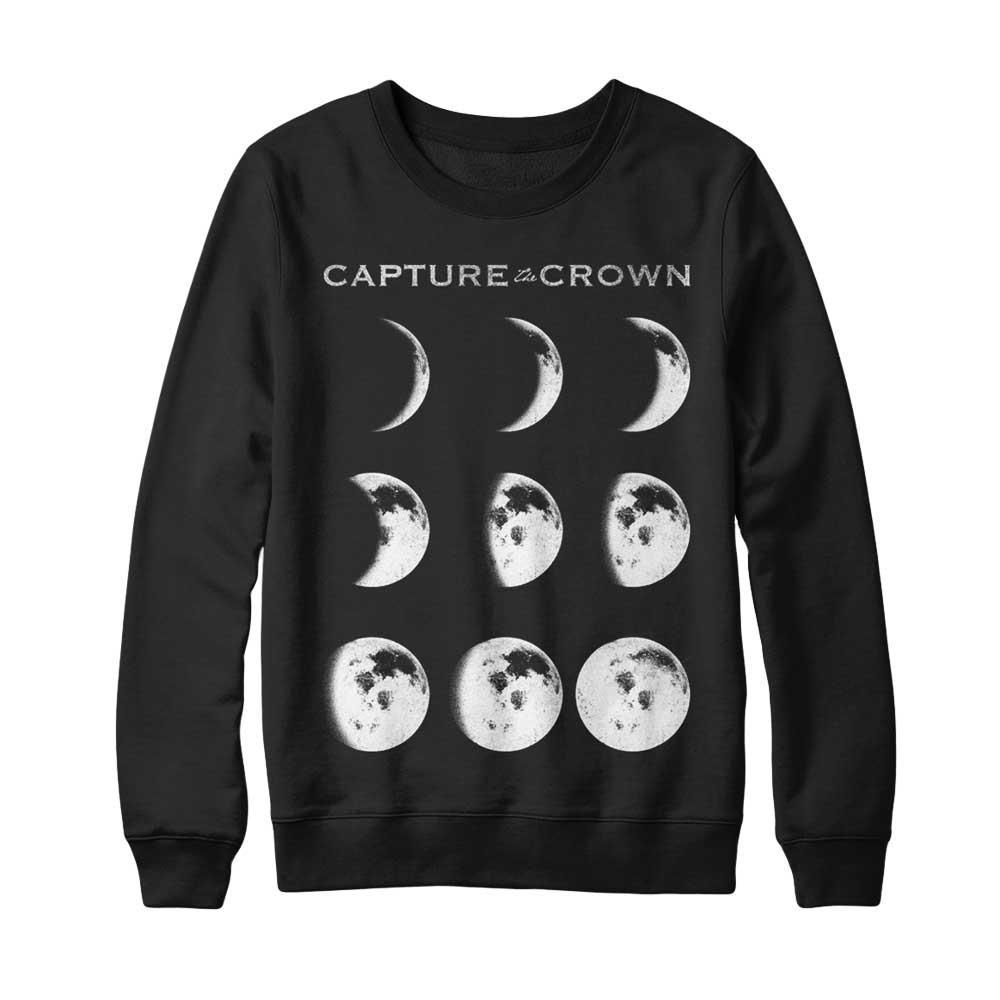 *Limited Stock* Moons Black Crewneck