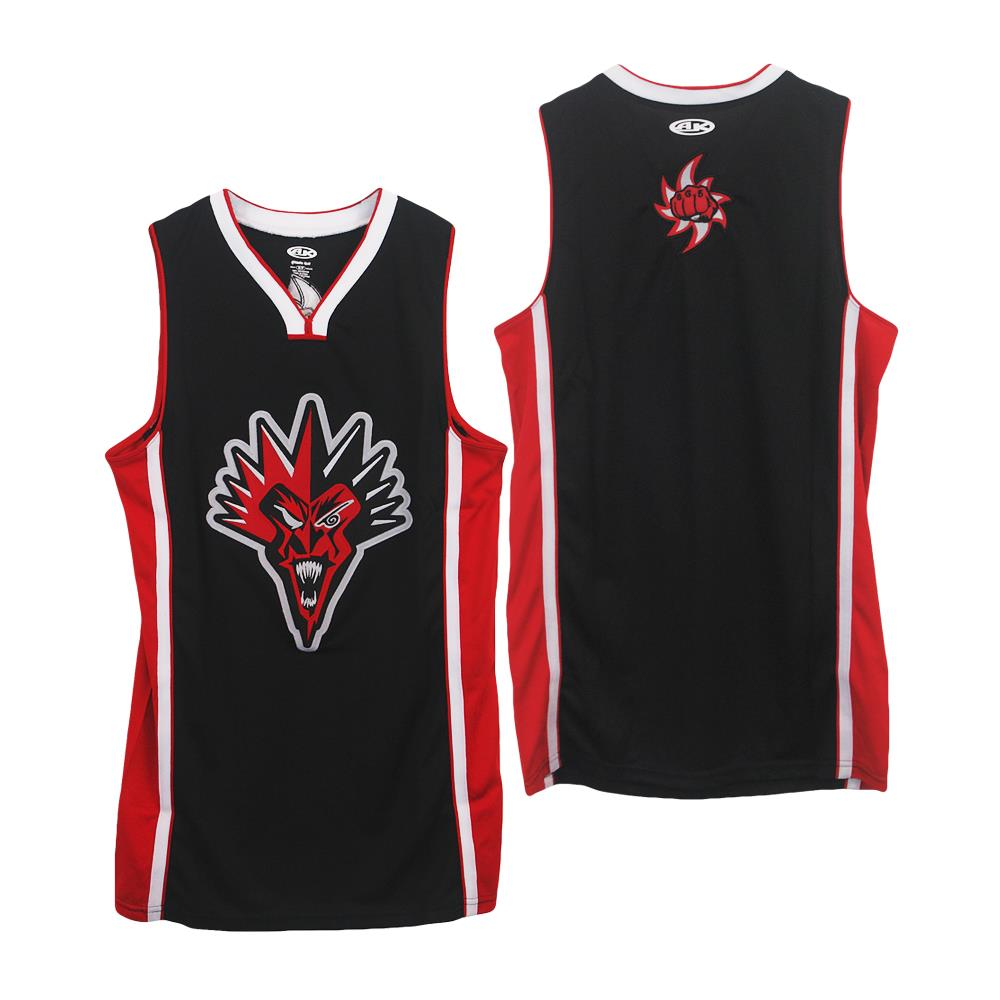 Fearless Fred Fury Red/Black Basketball
