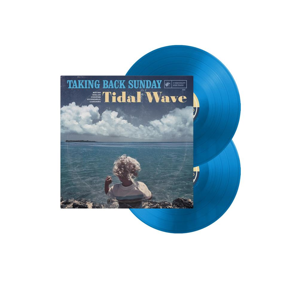Tidal Wave Transparent Blue