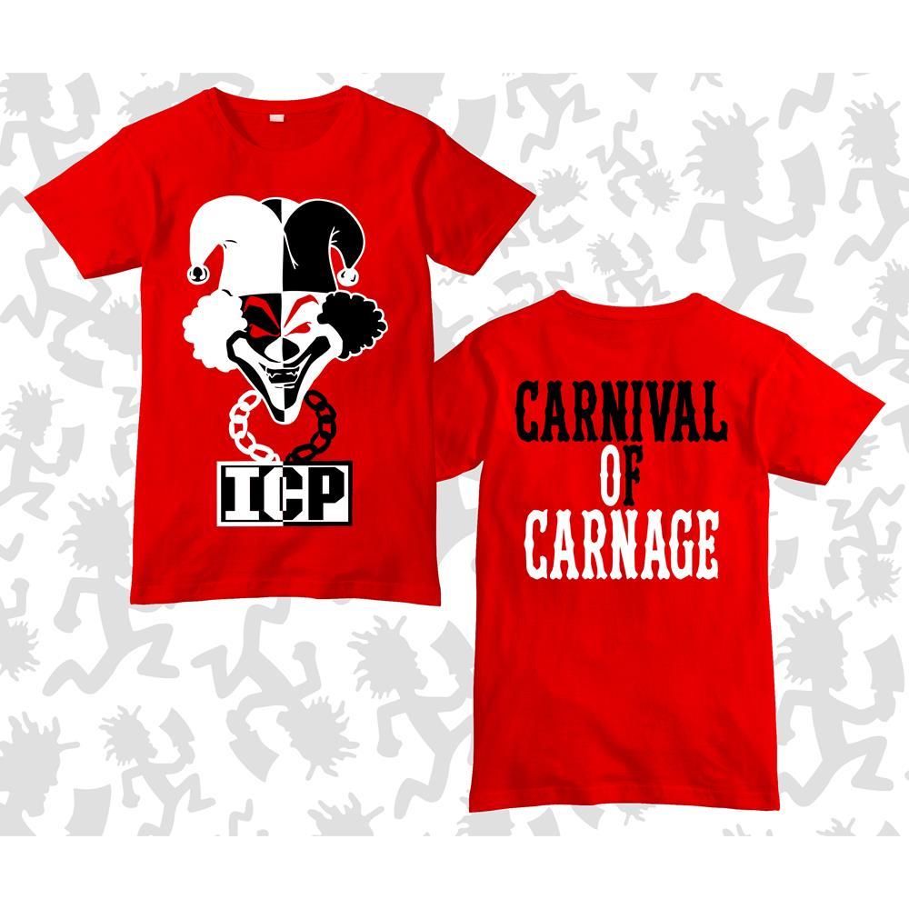 Carnival Of Carnage Joker Card Red