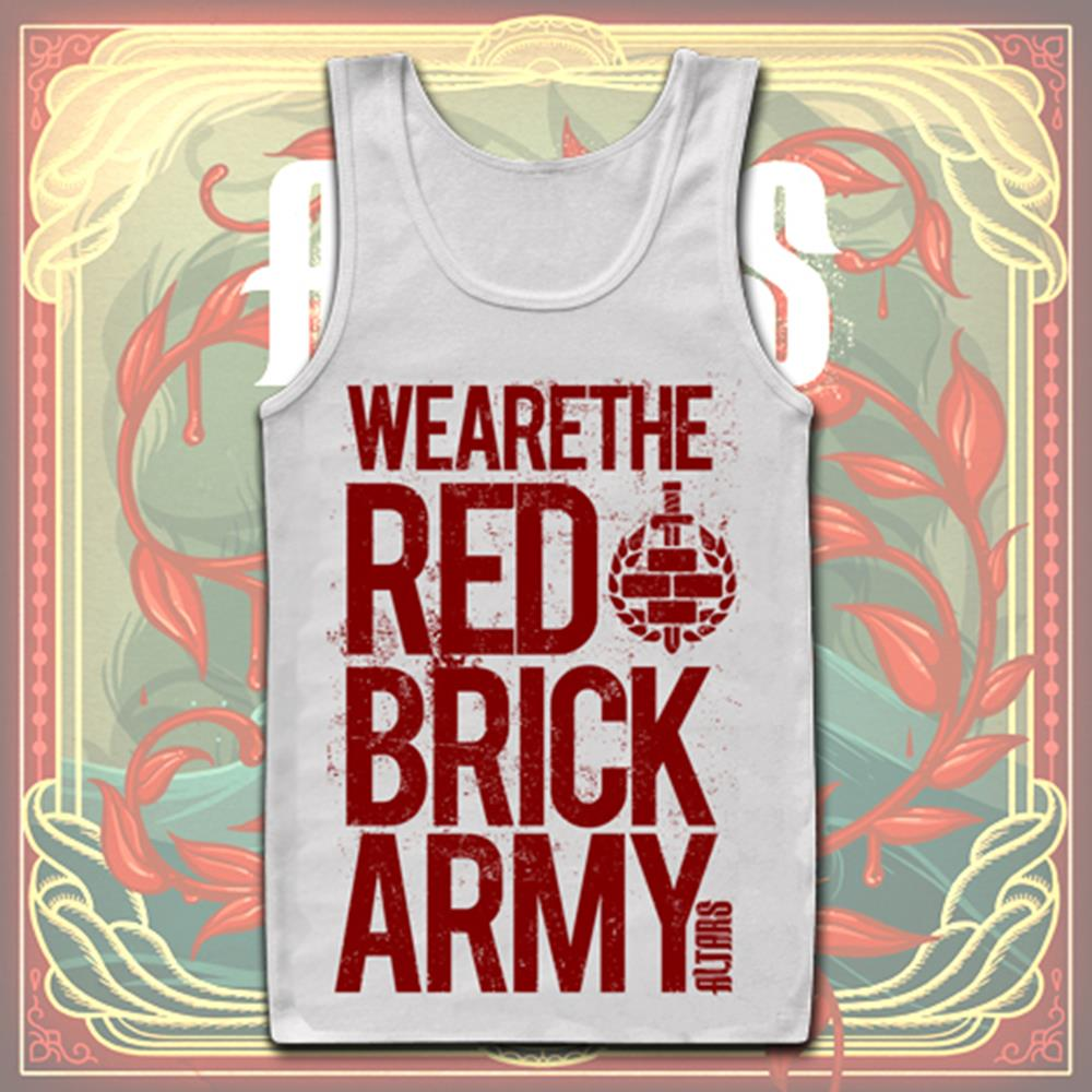 Red Brick Army White *Final Print*