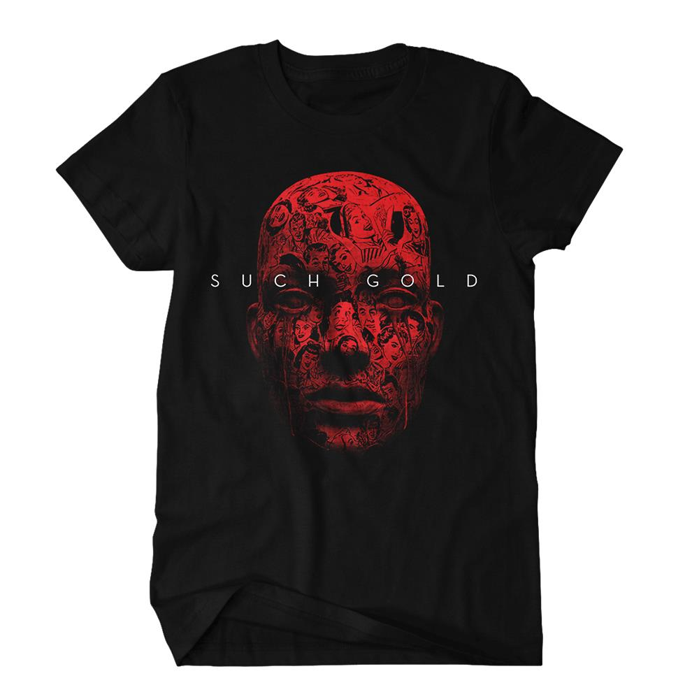 Face Black T-Shirt