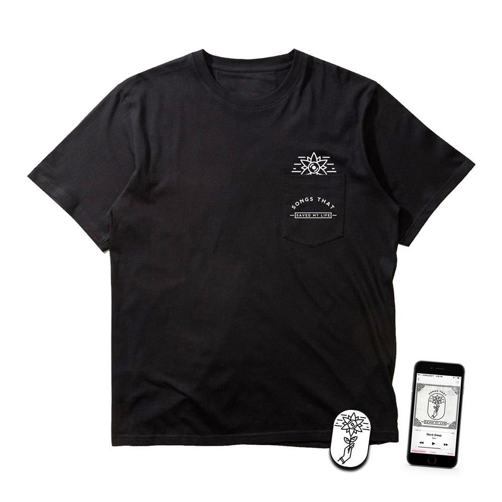 STSML Digital Album + Pocket Black Tee + Enamel Pin