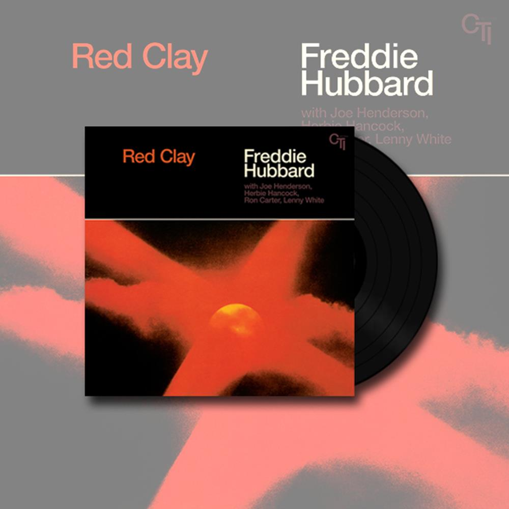 Red Clay 180 gram 33rpm Black LP