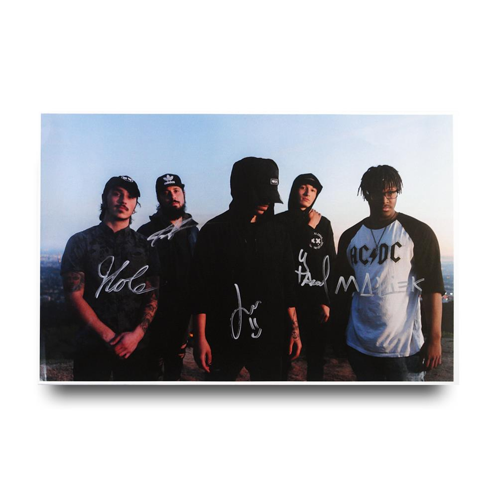 Signed Band Poster