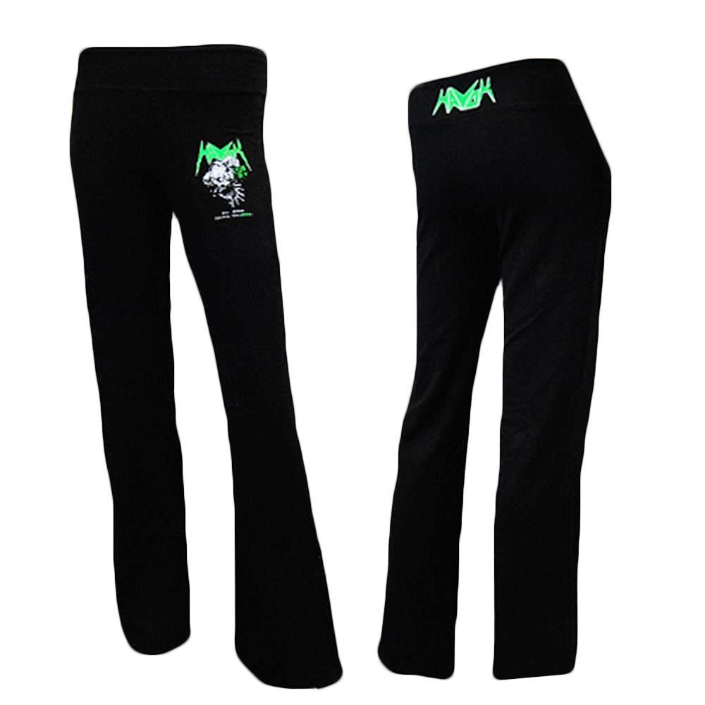 Logo Black Yoga Pants