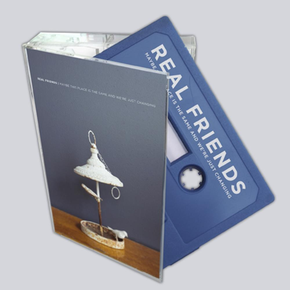 Real Friends Cassette Tape