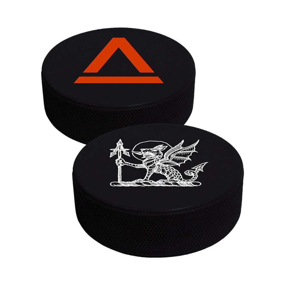 Heallbeast Black Hockey Puck