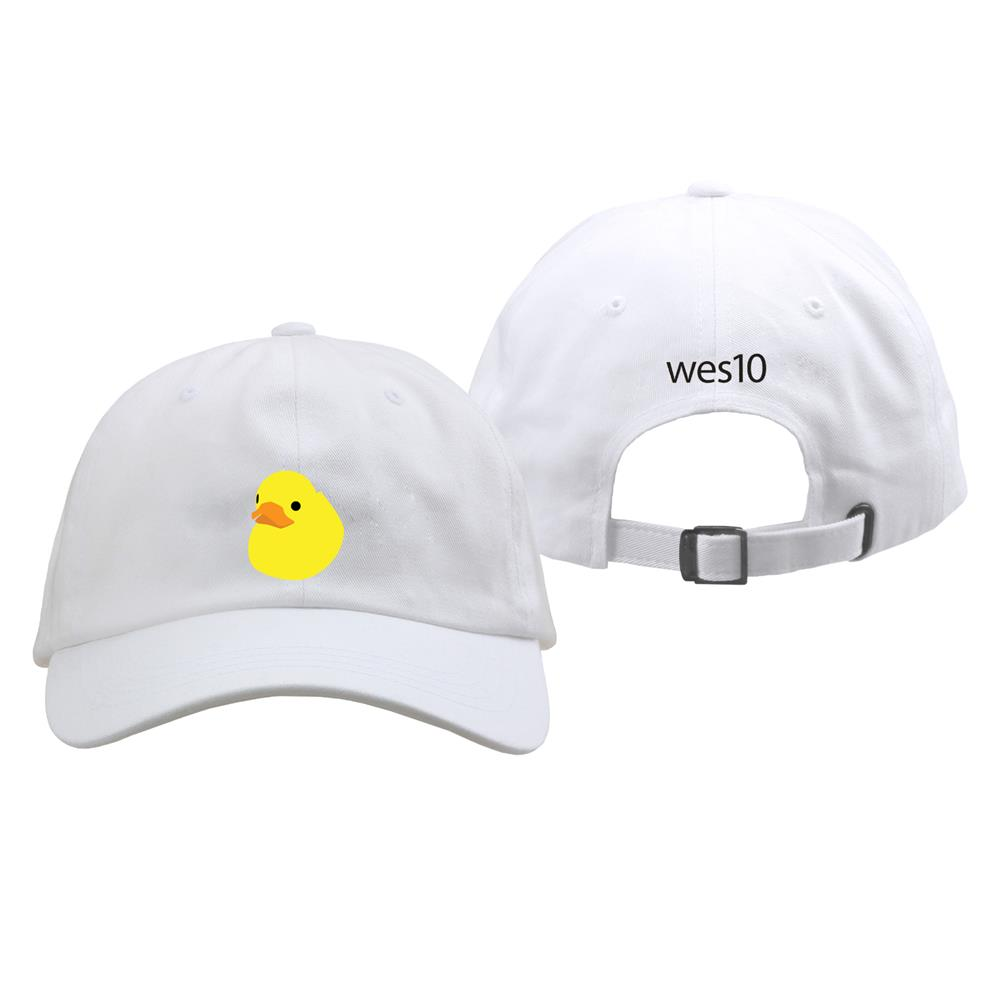 Duckies White Dad Hat