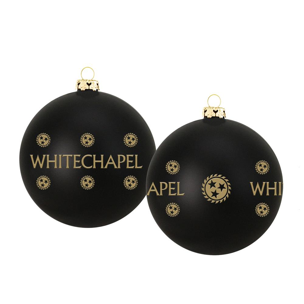 2019 Holiday Black Ornament