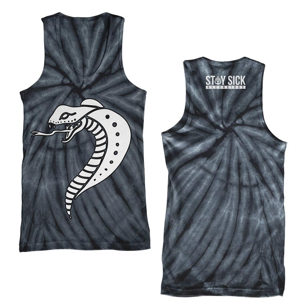 Snake Black Tie Dye