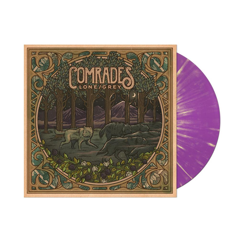 Lone/Grey Purple Mountain Splatter Vinyl + Download