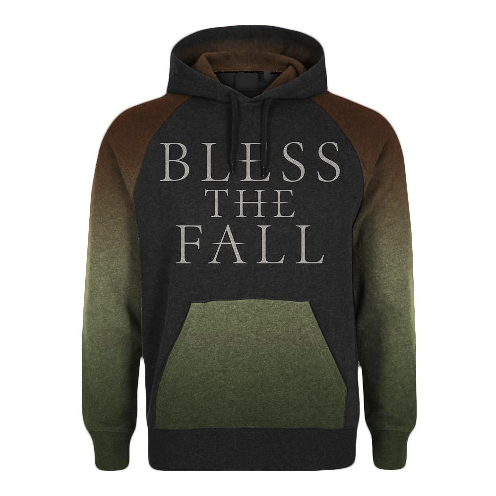 Blessthefall Custom Grey W/ Green And Brown