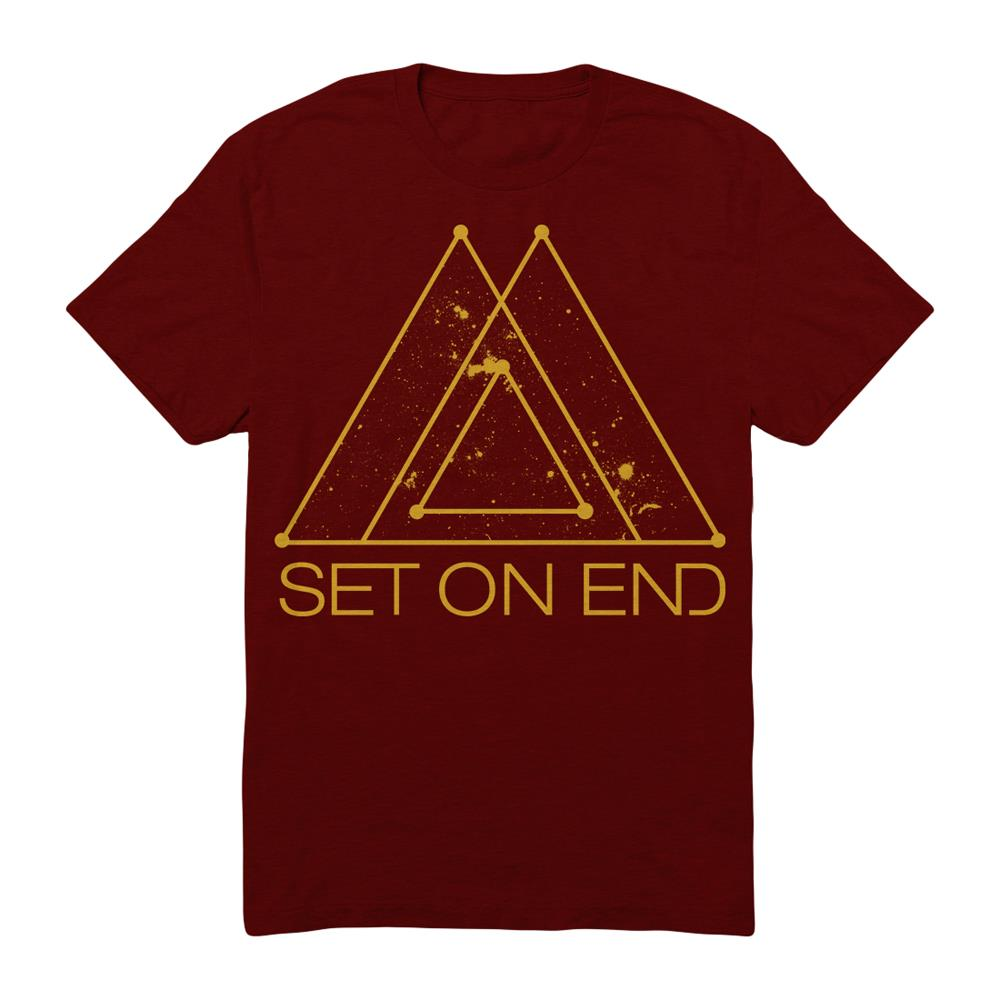 Gold Space  Maroon
