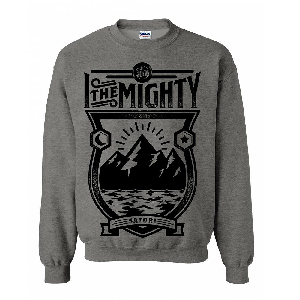 Mountain Heather Grey Crewneck