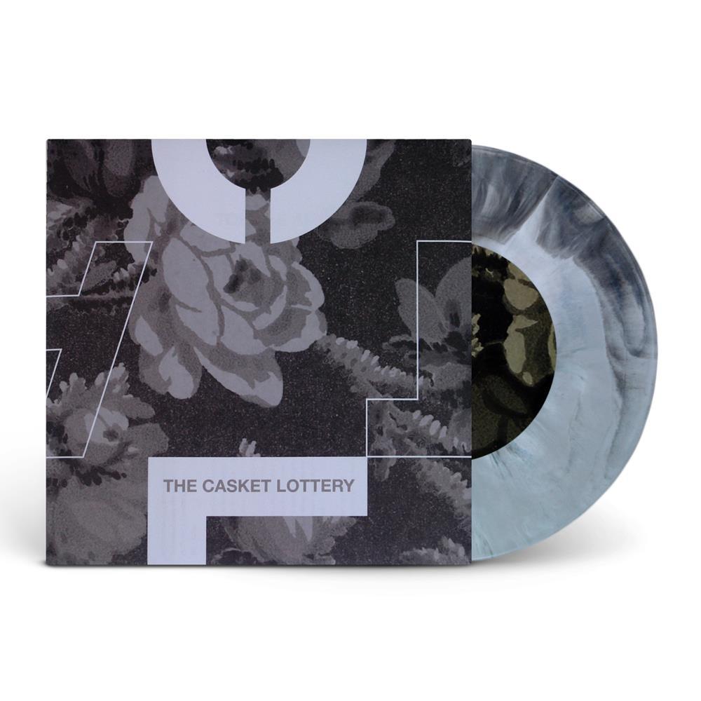 Split Black/White Starburst Vinyl 7