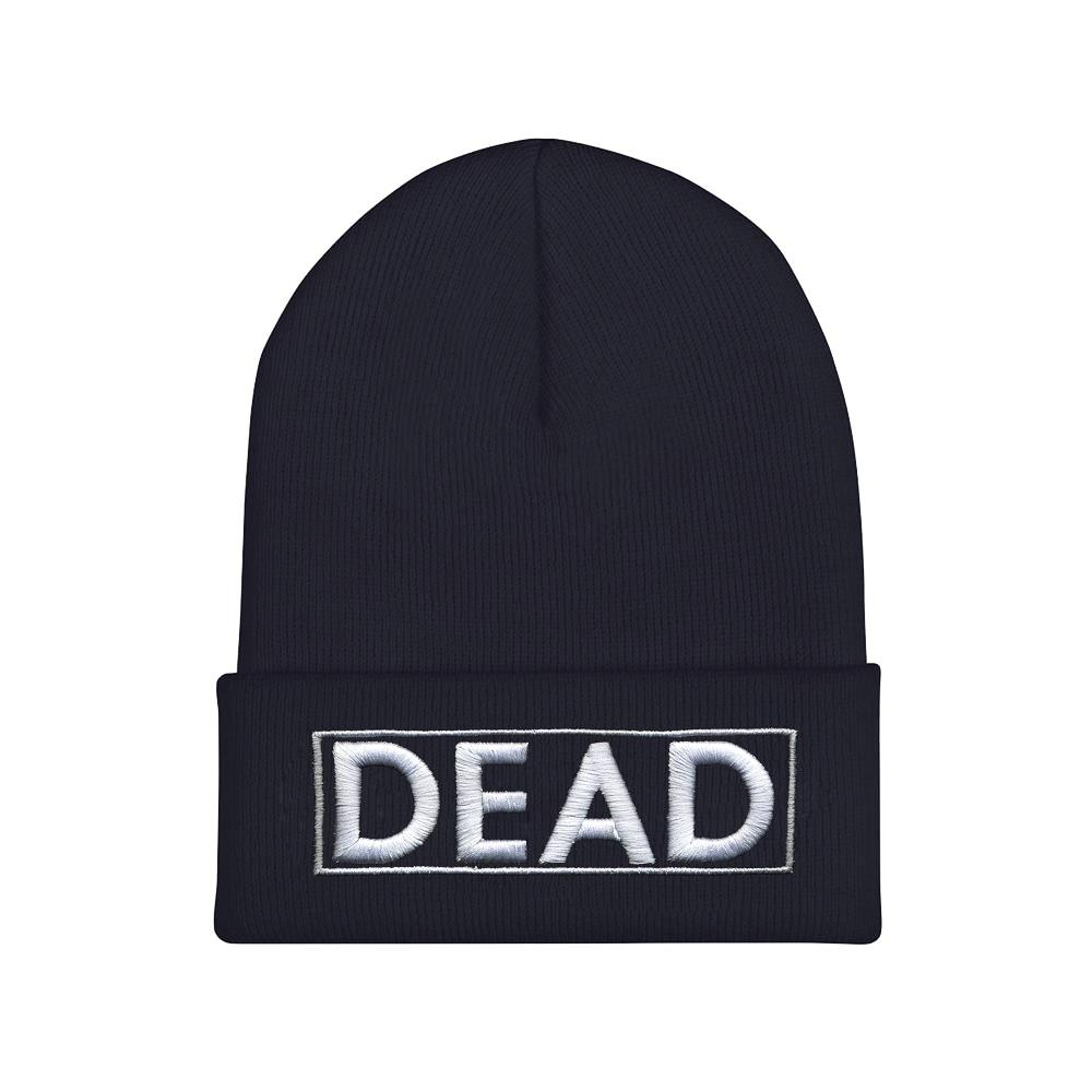 DEAD Embroidered Black
