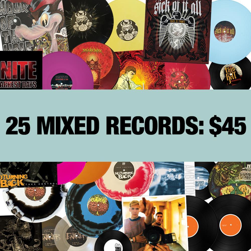 Vinyl Hoarder - 25 Mixed