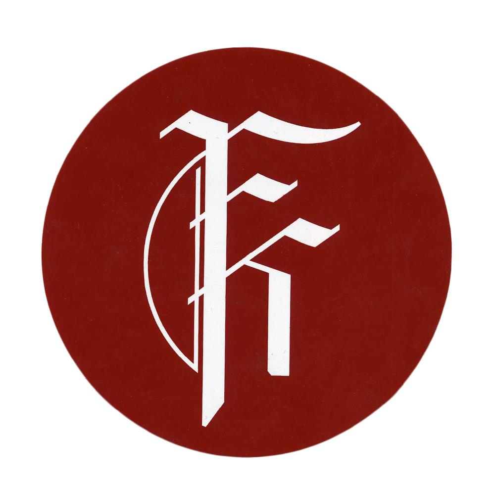 Fit For A King - Logo Red/White