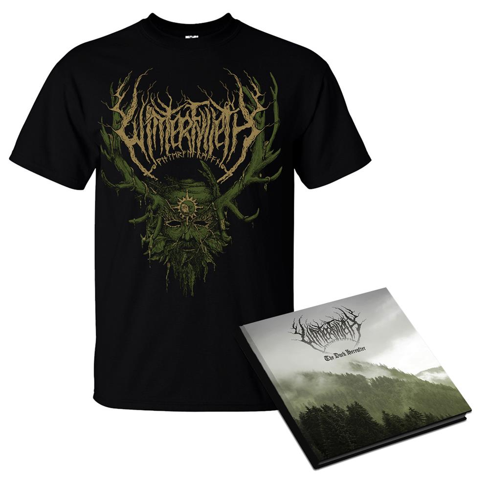 Deluxe Hardcover CD & The Green Man T-Shirt
