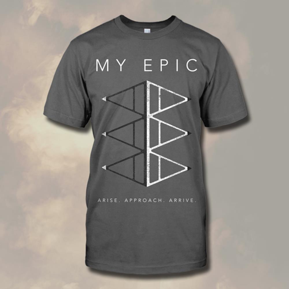 Arise Charcoal T-Shirt *Final Print*