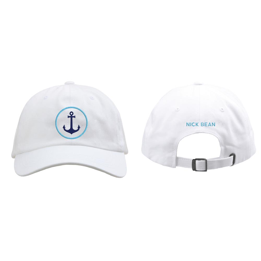Anchor White Dad Hat