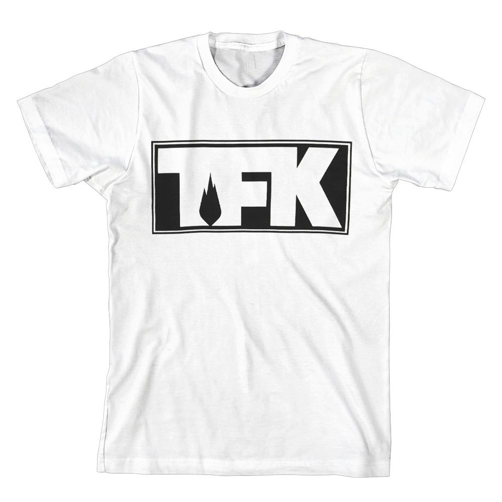 TFK Outline Logo White