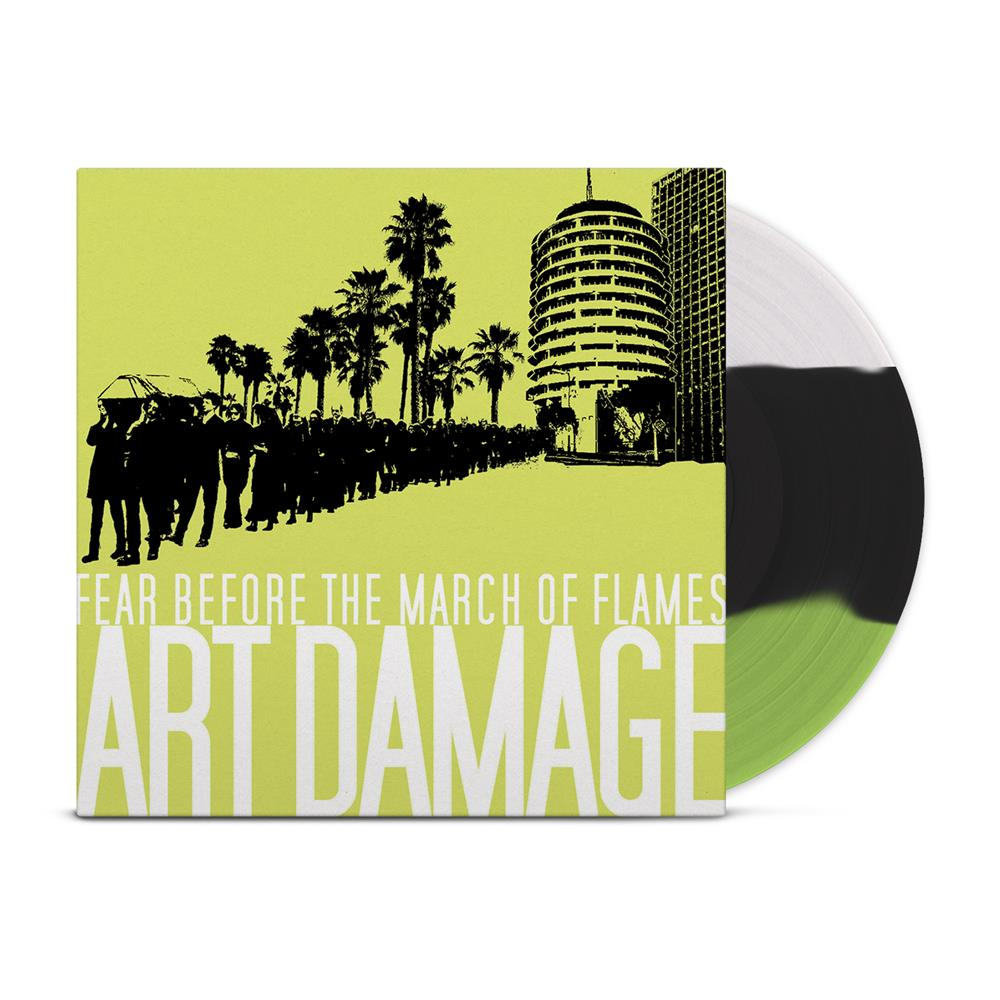 Art Damage Striped Black/White/Green + DD