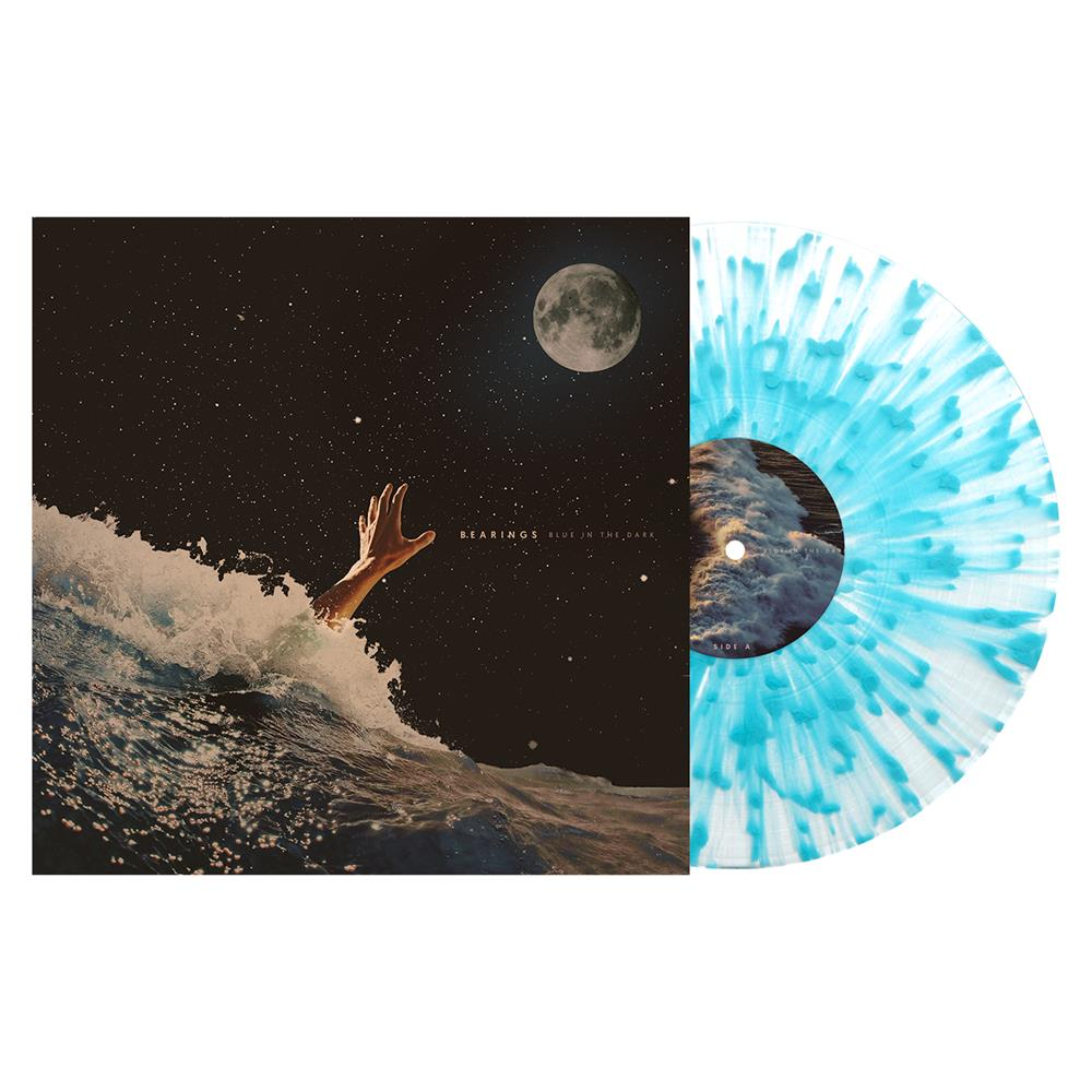 Blue In The Dark Clear W/ Heavy Sea Blue Splatter