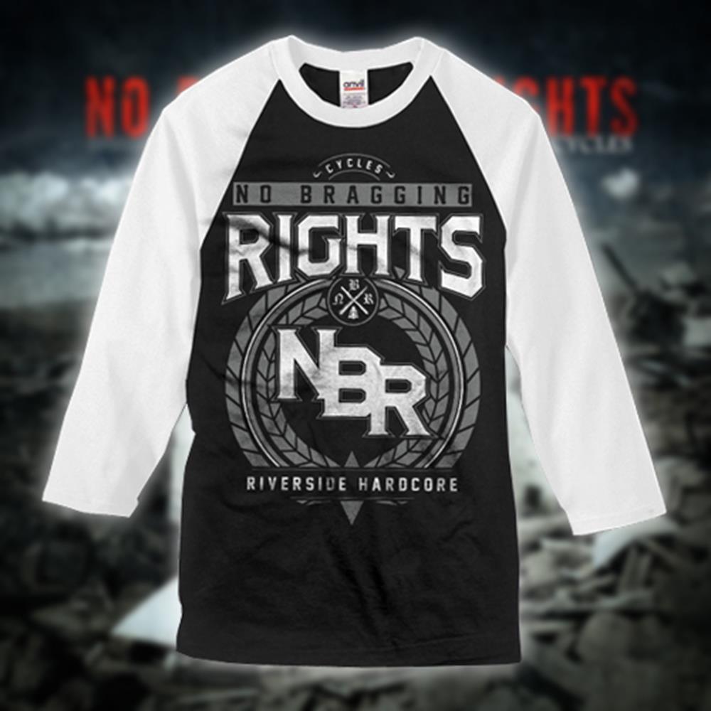 Crest Black/White Baseball Shirt