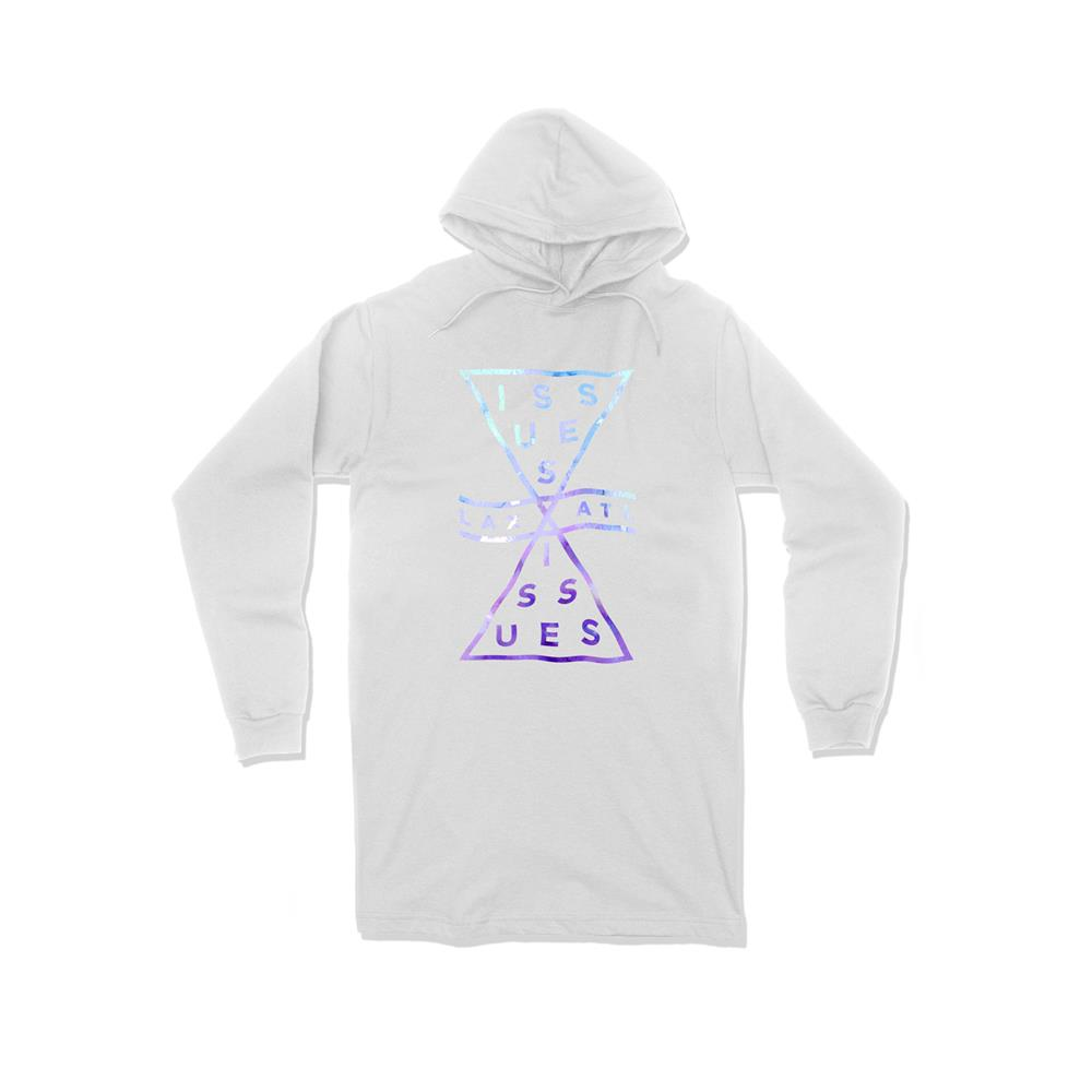 Hourglass Logo White