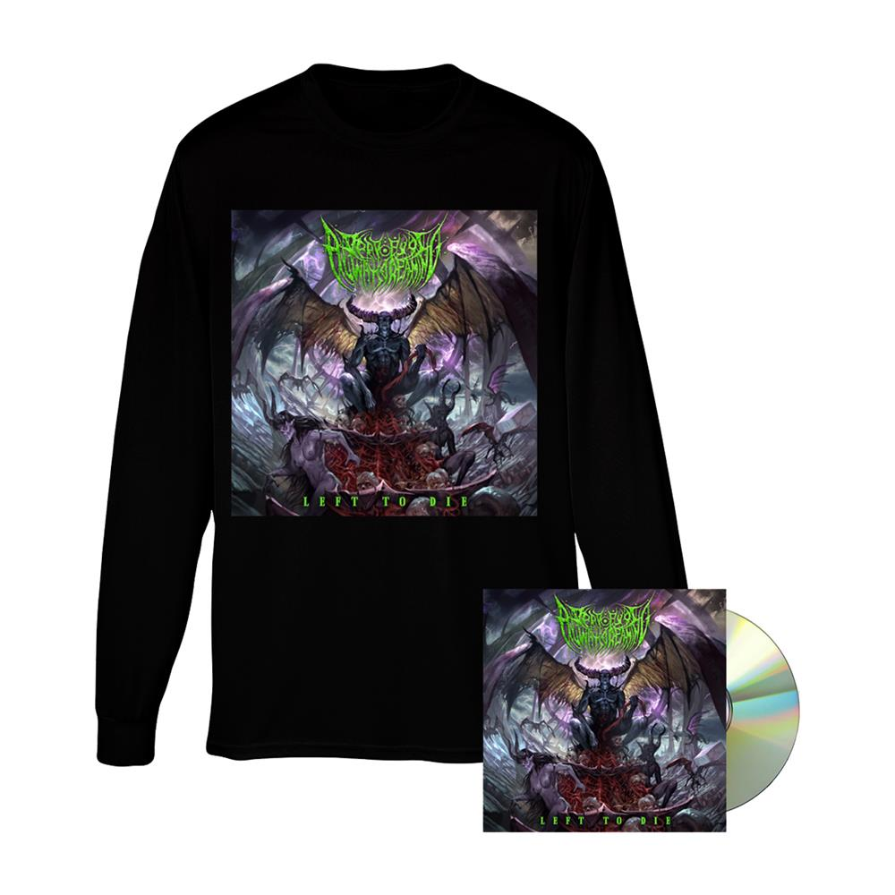 Left To Die CD + Album Long Sleeve