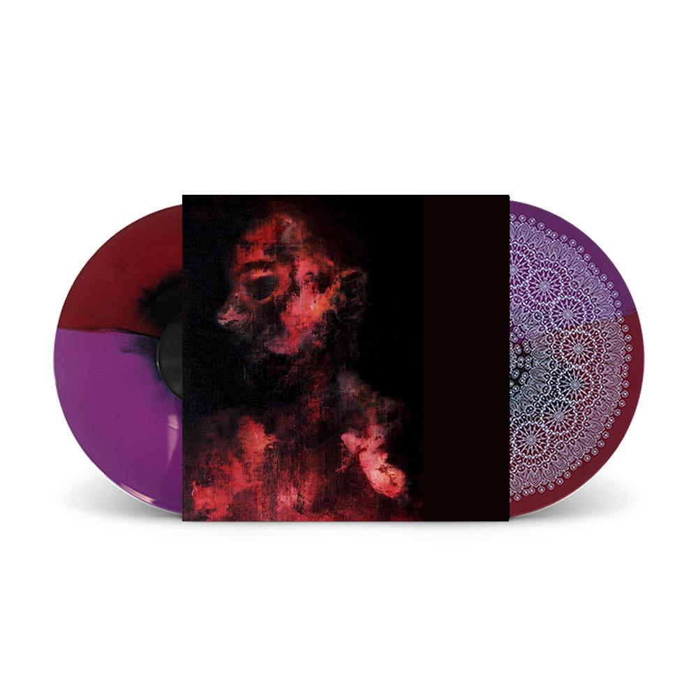 Caged In Flesh Red / Purple W/ Etching