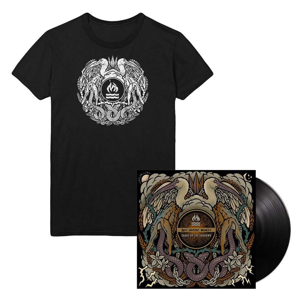 Shake Up The Shadows LP + T-Shirt
